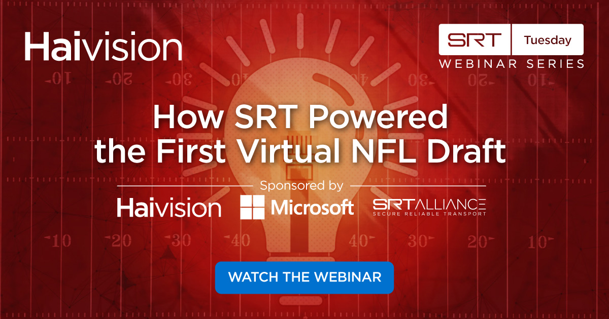 SRT Tuesday NFL Draft Webinar